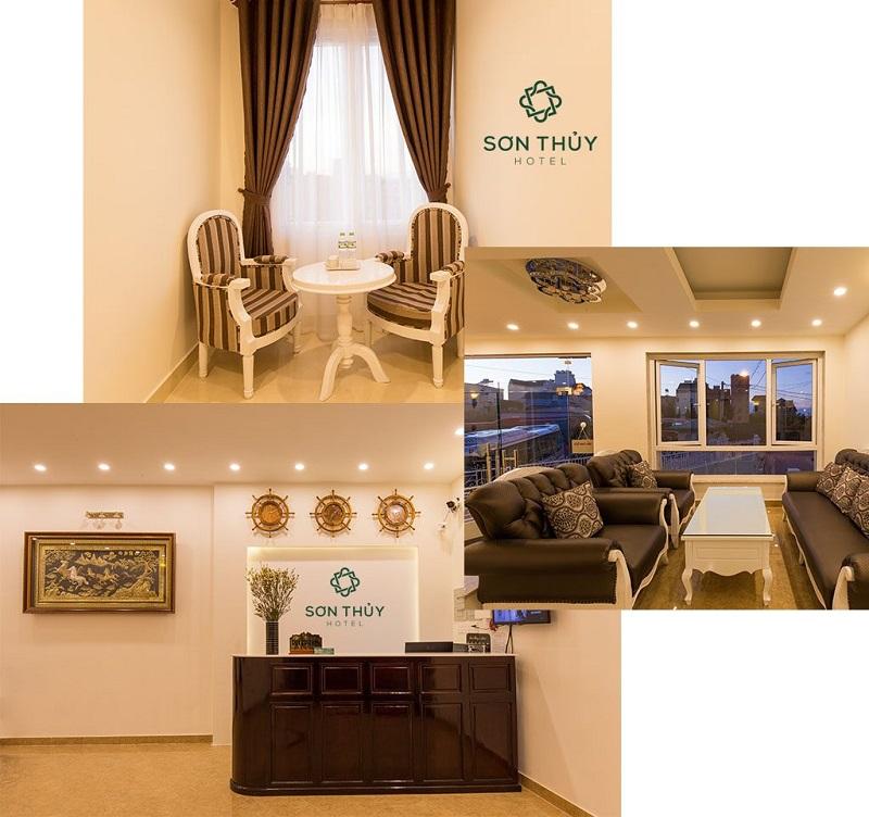 Sảnh tiếp khách của khách sạn Sơn Thủy Đà Lạt