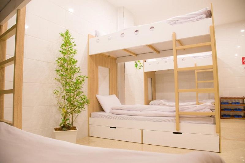 Một căn phòng giường tầng ở Thanh Thanh Hotel Đà Lạt
