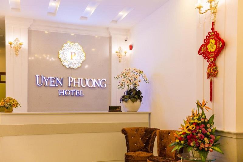 Sảnh tiếp khách của Uyên Phương Hotel Đà Lạt