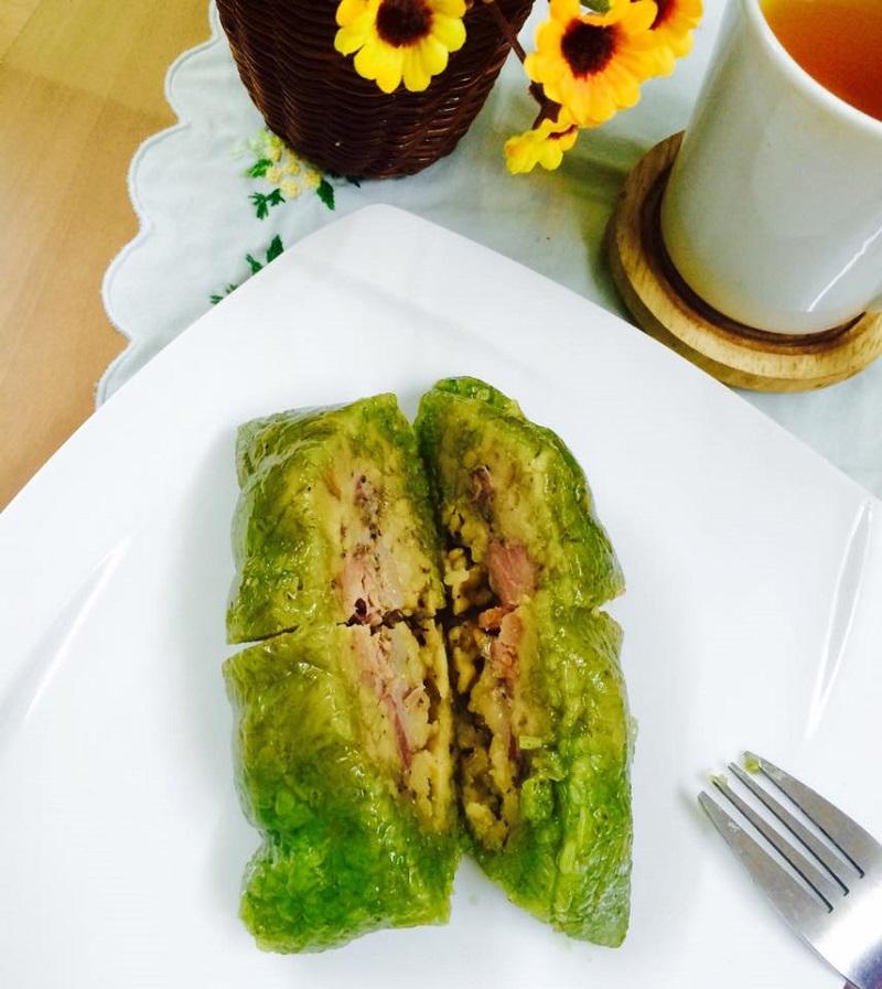 Bánh chưng gù của người tày Hà Giang