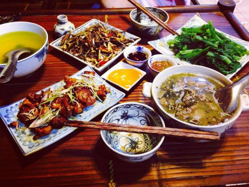 quán ăn bê chao mộc châu