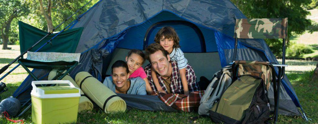 Lều cắm trại có sức chứa cho cả gia đình