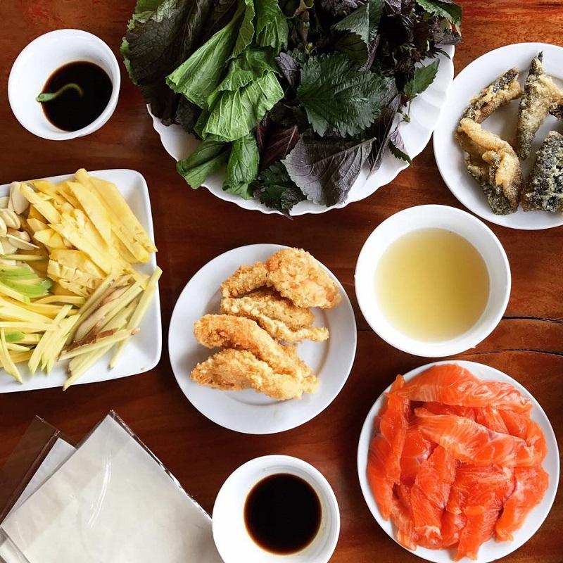 đi ăn ở Mộc Châu