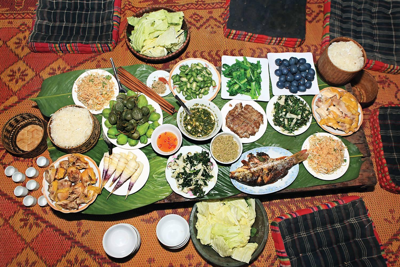 các món ăn quán xuân bắc