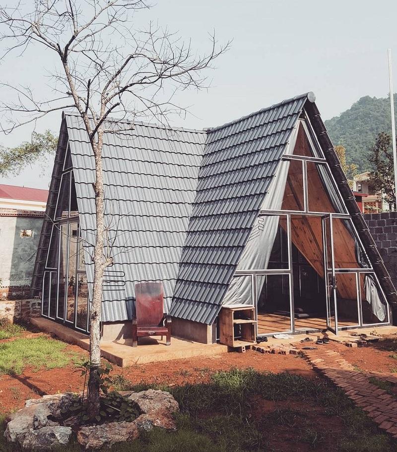homestay nhà gỗ ở mộc châu