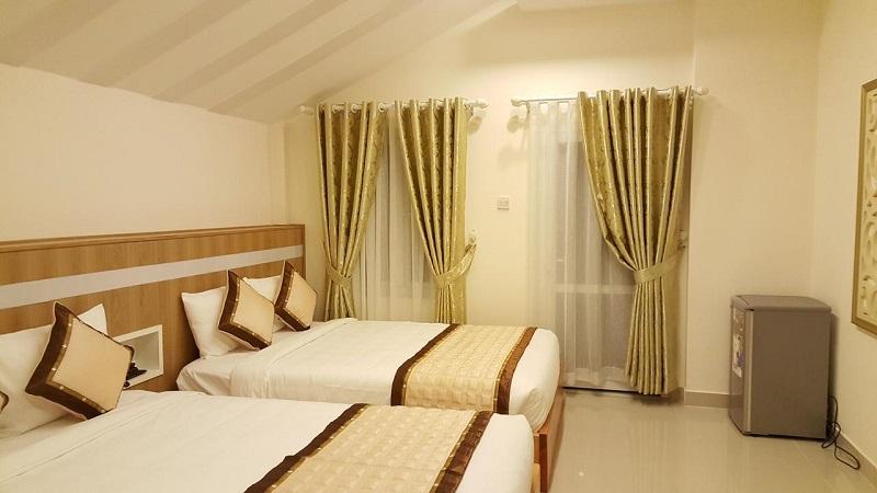 Không gian phòng của khách sạn Isana Hotel Đà Lạt