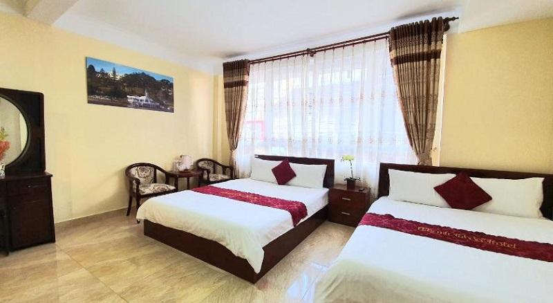 Không gian phòng của khách sạn Thanh Thảo Đà Lạt