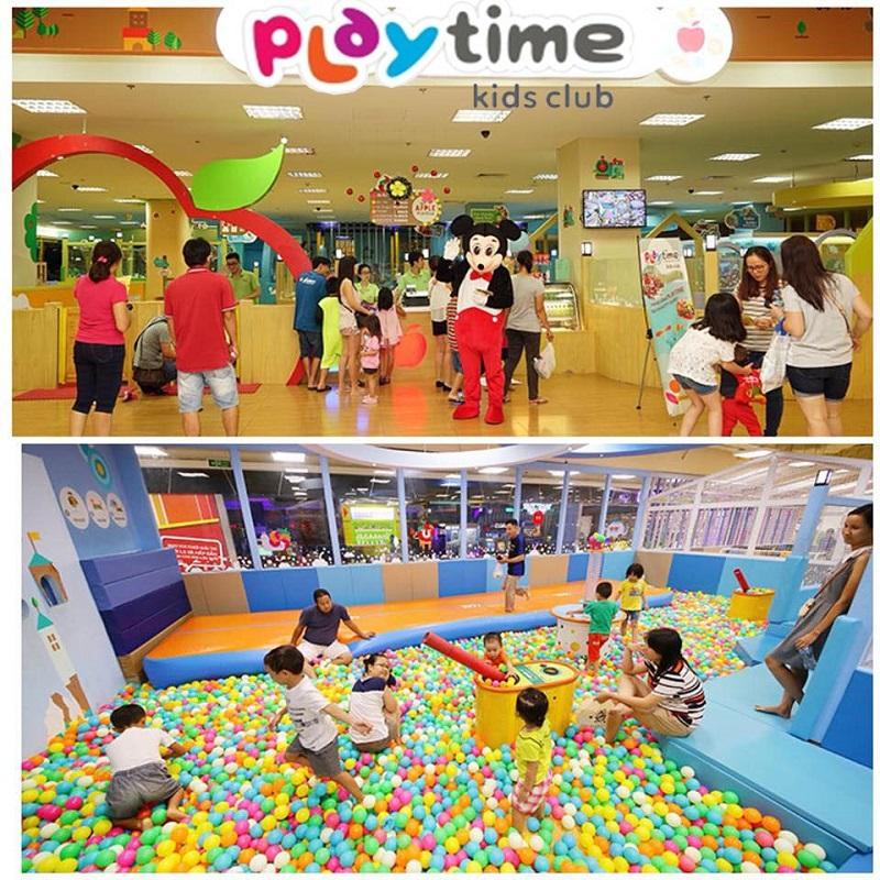 Khu vui chơi Play Time tại Vincom Phạm Ngọc Thạch