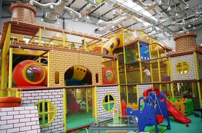 Không gian vui chơi đa dạng kết hợp rèn luyện trí tuệ và thể chất tại Kinder Park