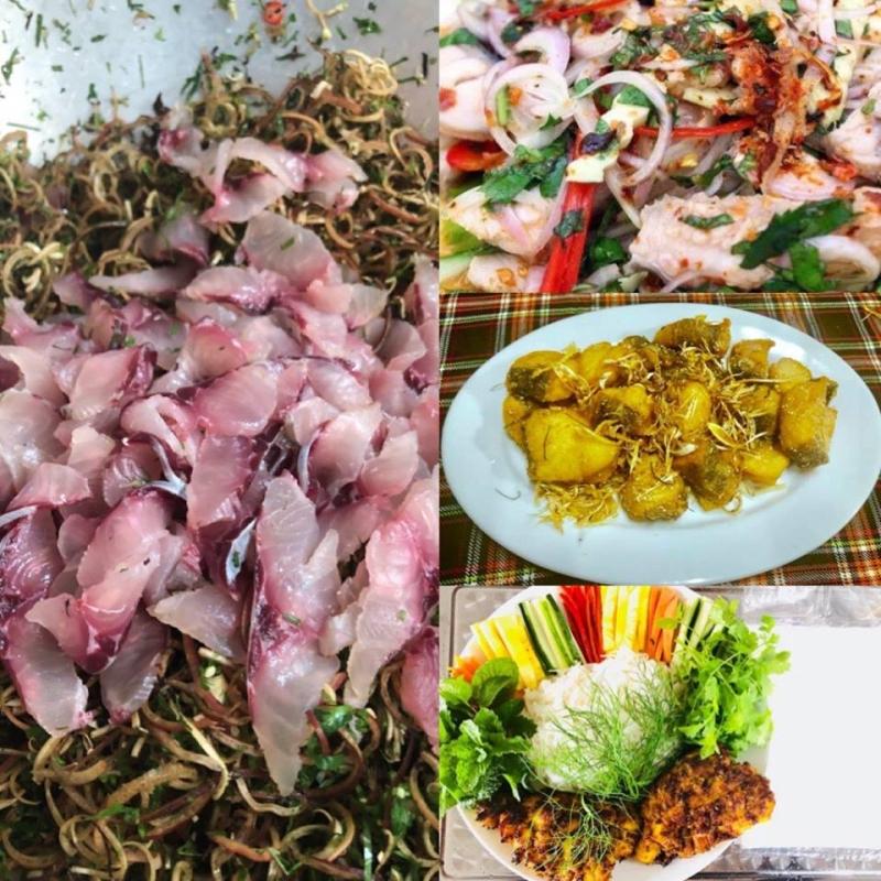 thưởng thức nhà hàng cá cao nguyên