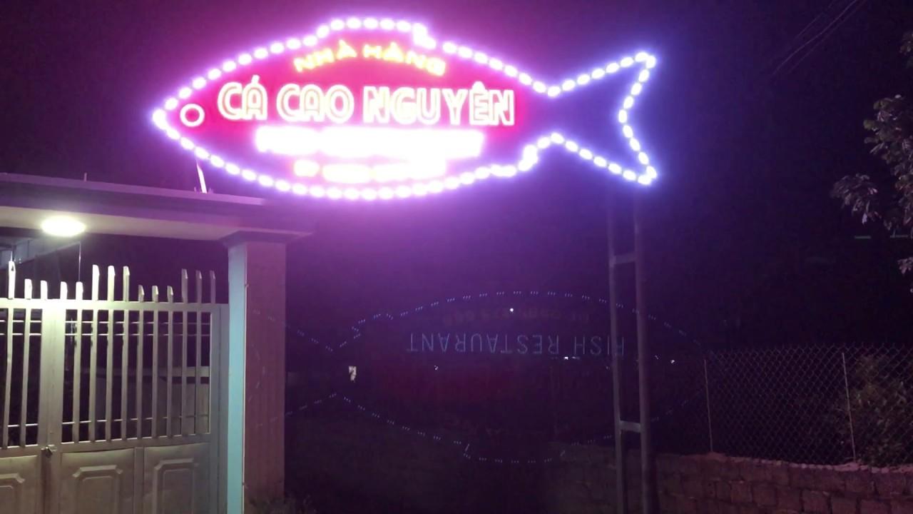 nhà hàng cá ở mộc châu