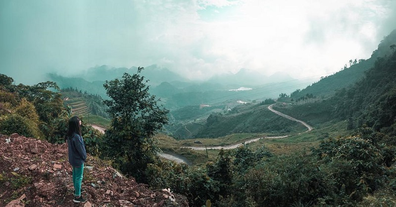 Cung đường đèo Hà Giang chìm trong biển sương mù
