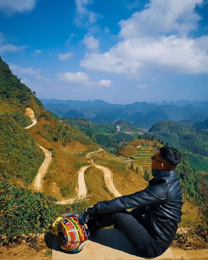 Toàn cảnh cung đường đèo Hà Giang từ trên cao