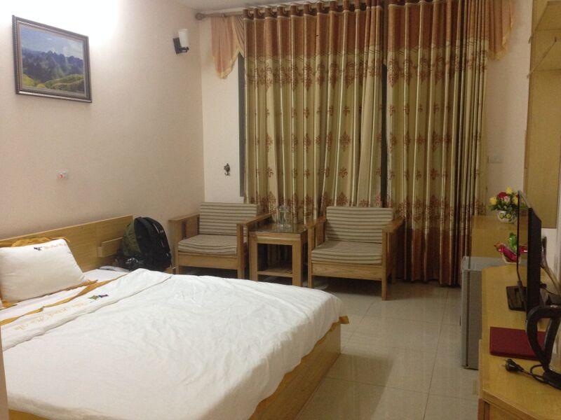 Không gian bên trong khách sạn Hà An Hà Giang