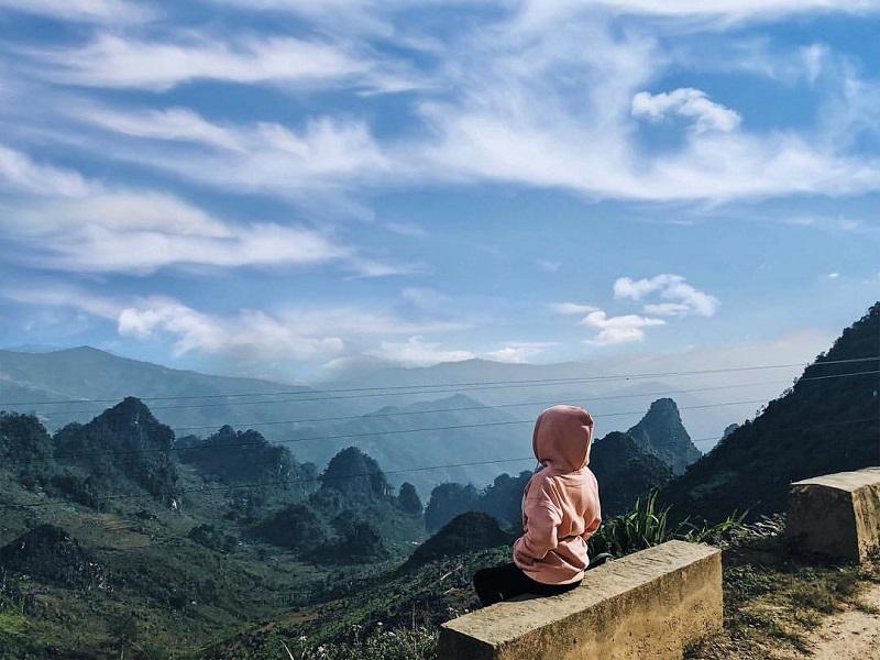Ngắm cảnh đất trời Hà Giang với những dãy núi điệp trùng