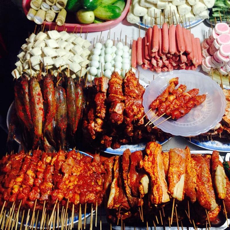 Các món nướng đặc sản tại Hà Giang