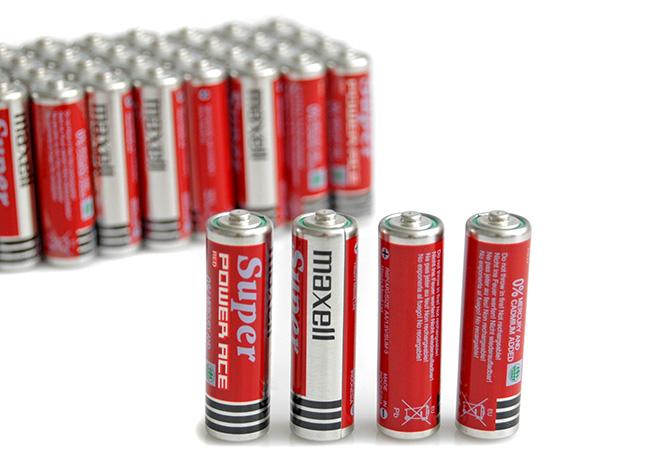 Pin của đèn có nhiều loại và mẫu mã khác nhau