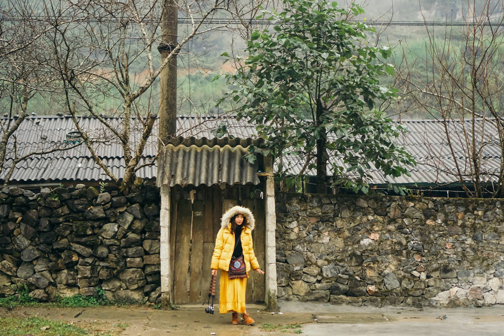 Cổng dinh thự họ Vương Hà Giang