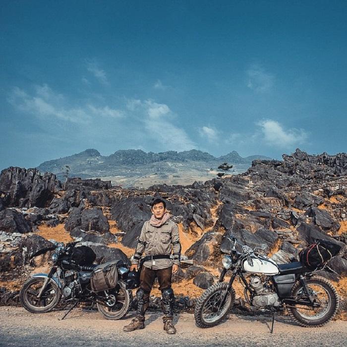 đi phượt Đồng Văn bằng xe máy