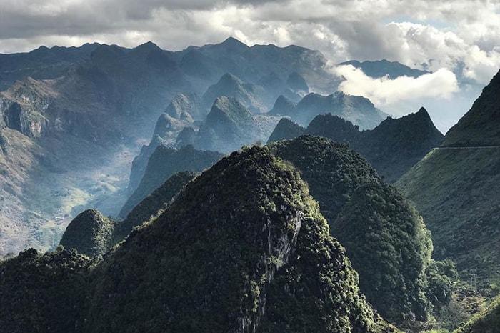 Những dãy núi đá điệp trùng của Hà Giang