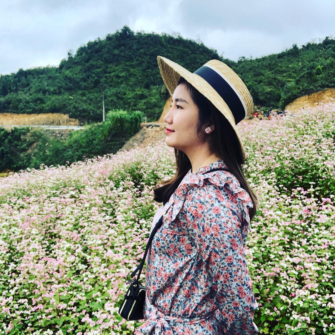 Check in mùa hoa tam giác mạch tại thị trấn Phó Bảng