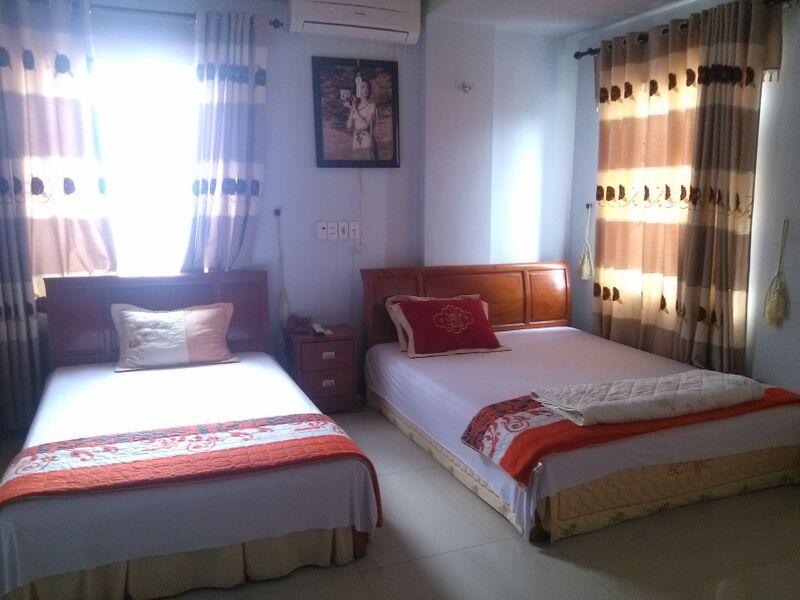 Phòng nghỉ tại khách sạn Thảo Nguyên Yên Minh Hà Giang