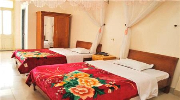 Phòng đôi tại khách sạn Việt Trung hà Giang