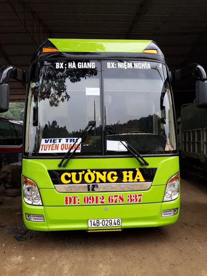 Xe Cường Hà đi Hà Giang