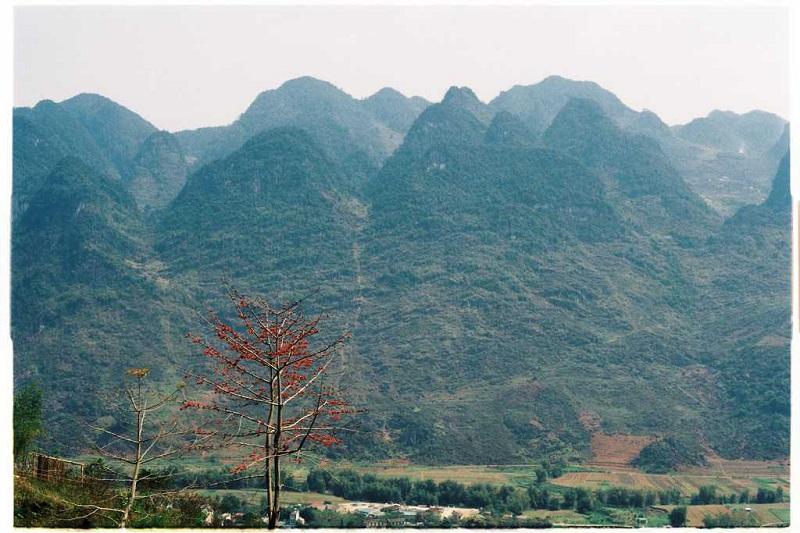 Những dãy núi điệp trùng của đất trời Hà Giang