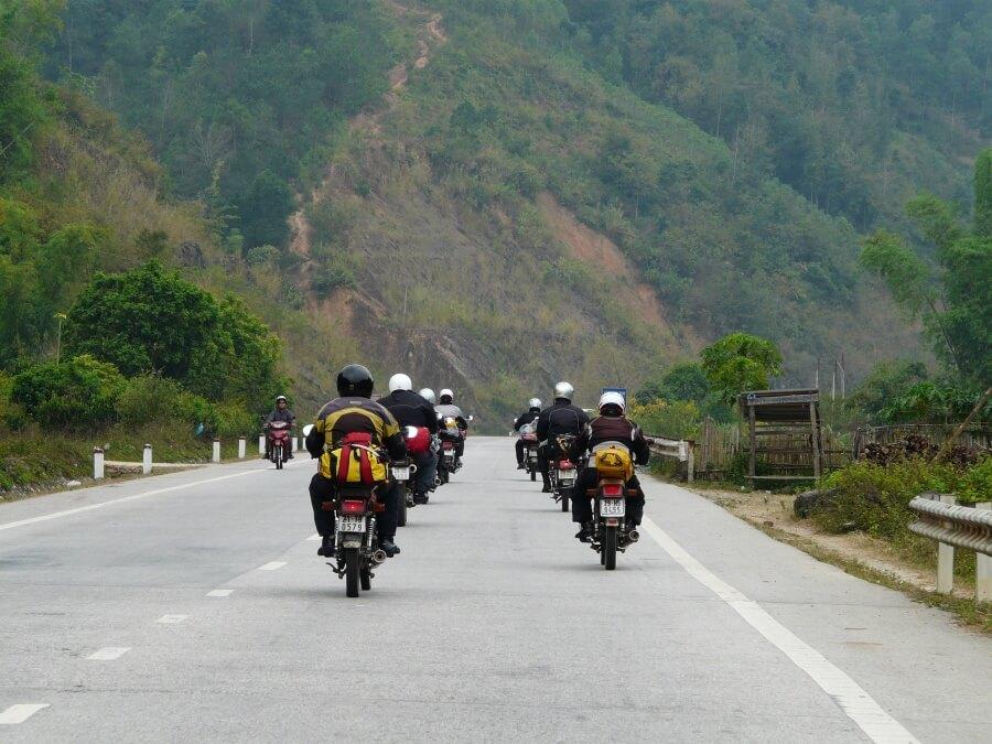 Đoàn phượt hà Giang bằng xe máy