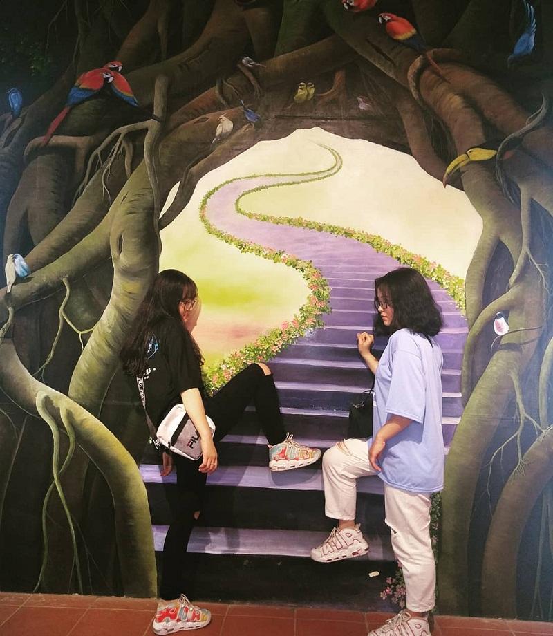 Trải nghiệm chụp ảnh 3D ở Ao Vua Ba Vì