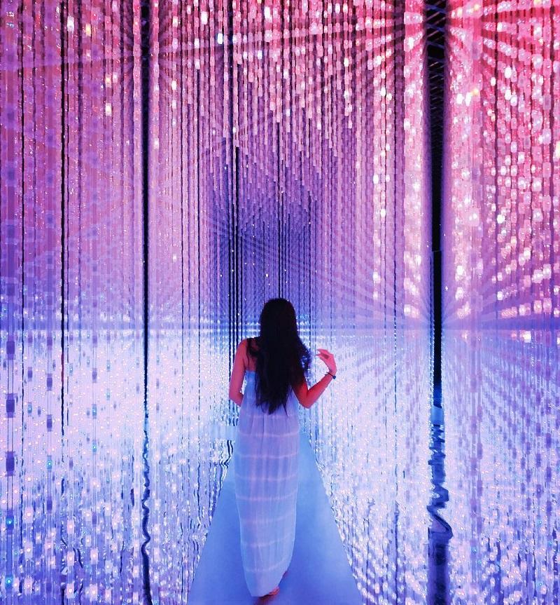 Thiên đường ánh sáng là góc sống ảo lý tưởng