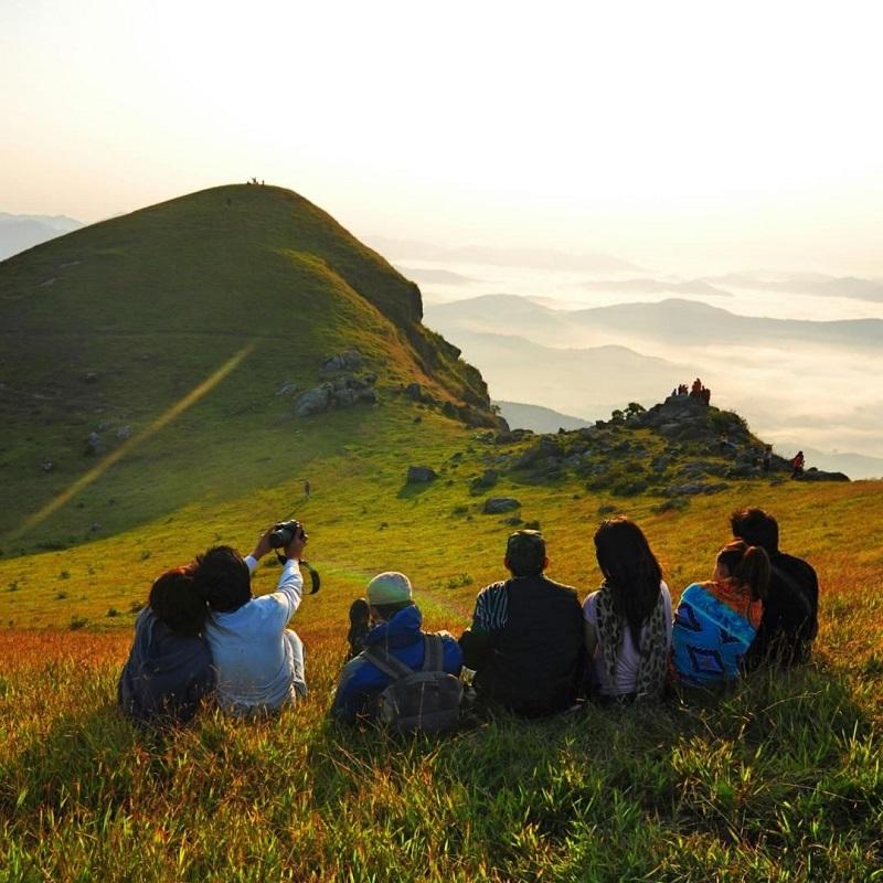 Lựa chọn một nơi bằng phẳng để nghỉ chân tại Đồng Cao