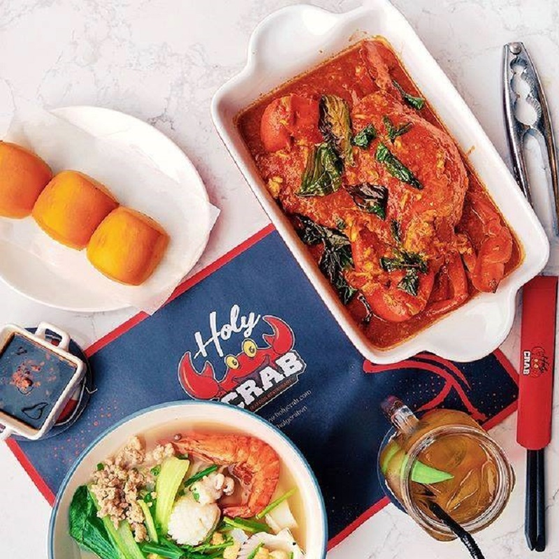 Khám phá ăn gì ở Singapore các bạn đừng bỏ qua món cua sốt ớt