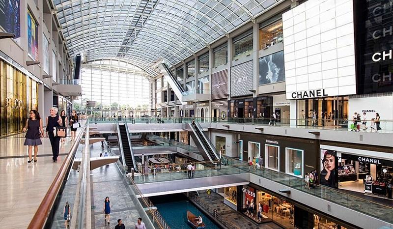 Khu trung tâm mua sắm tại Singapore