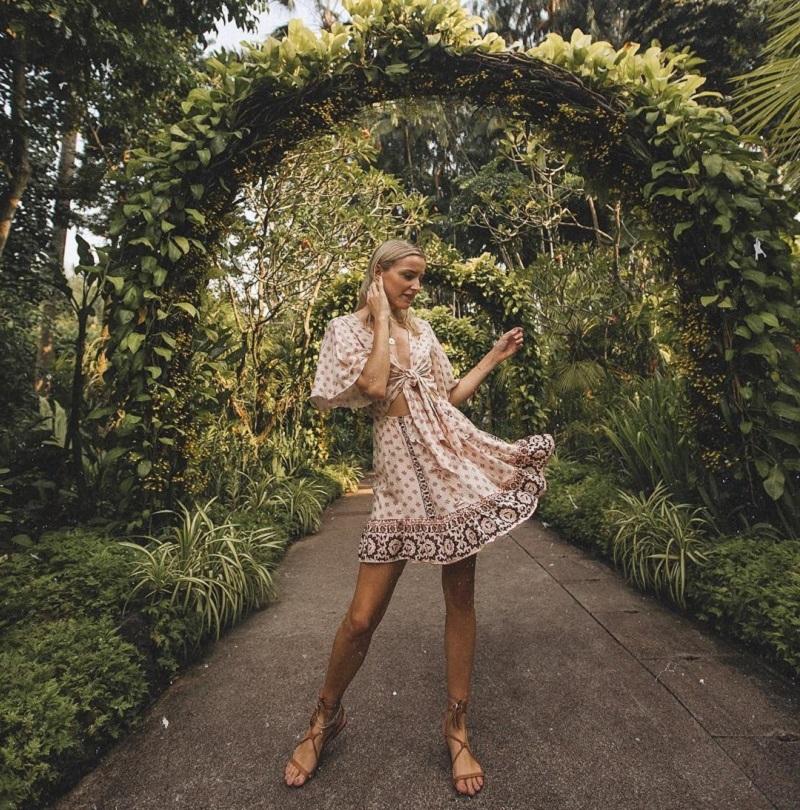 Lạc trong khu vườn xanh mát tại khu vườn Botanic Singapore