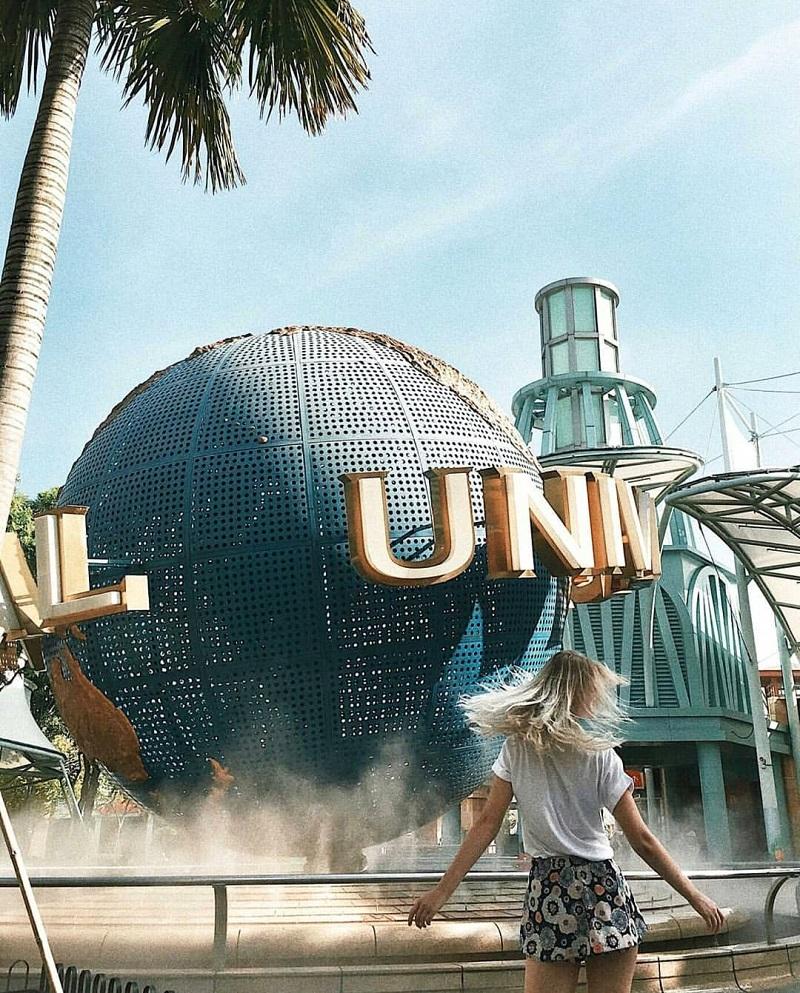 Khu vui chơi Universal Studios Singapore tại đảo Sentosa