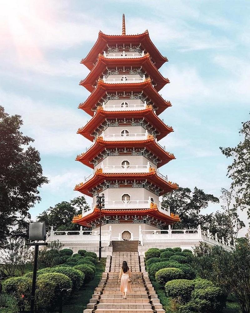 Ngôi chùa kiến trúc cổ tại Singapore