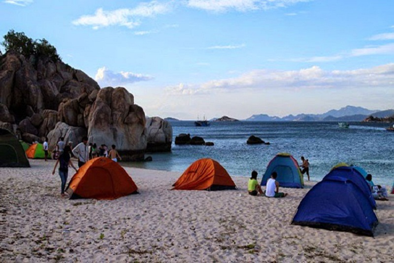 khu cắm trại