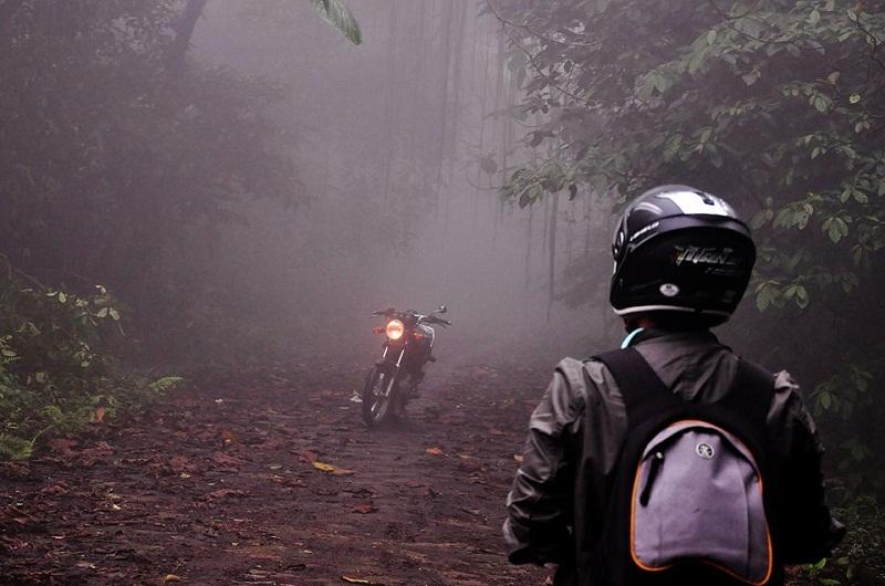 Lạc trong rừng cây âm u ở Ba Vì