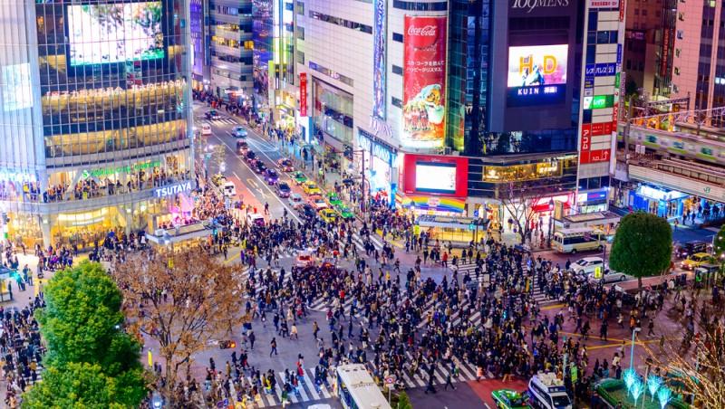 Khu vực trung tâm Tokyo