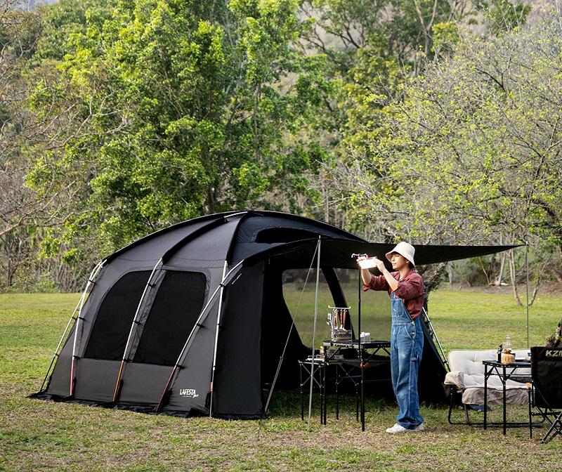 Sử dụng lều khi đi cắm trại