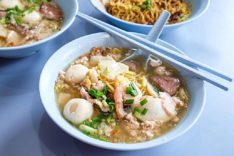 Món mì Singapore