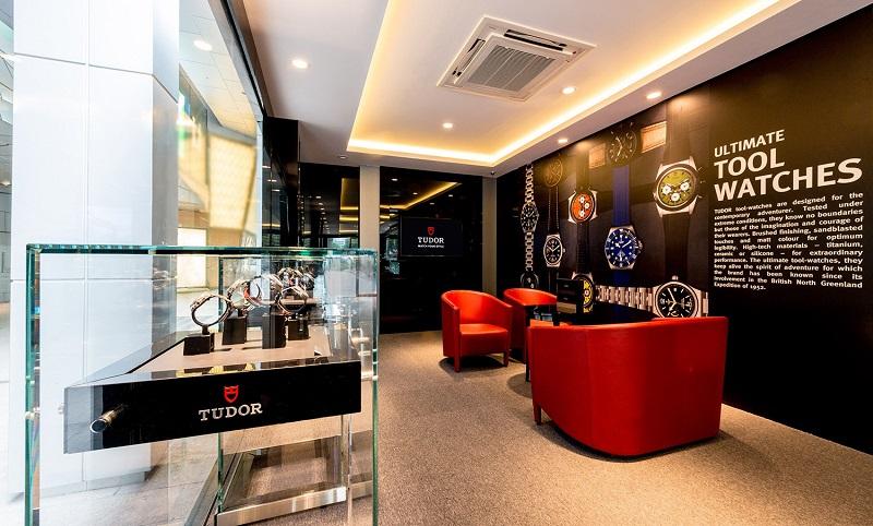 Nơi trưng bày các thương hiệu đồng hồ nổi tiếng
