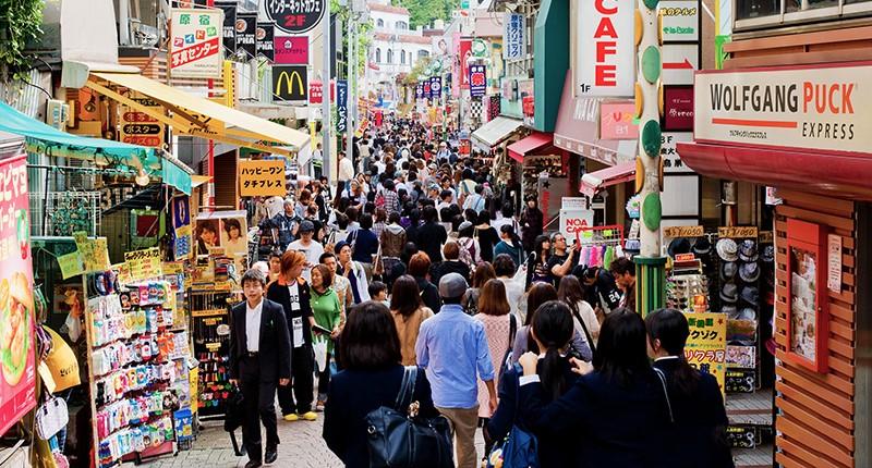 Một khu phố nhỏ ở Nhật