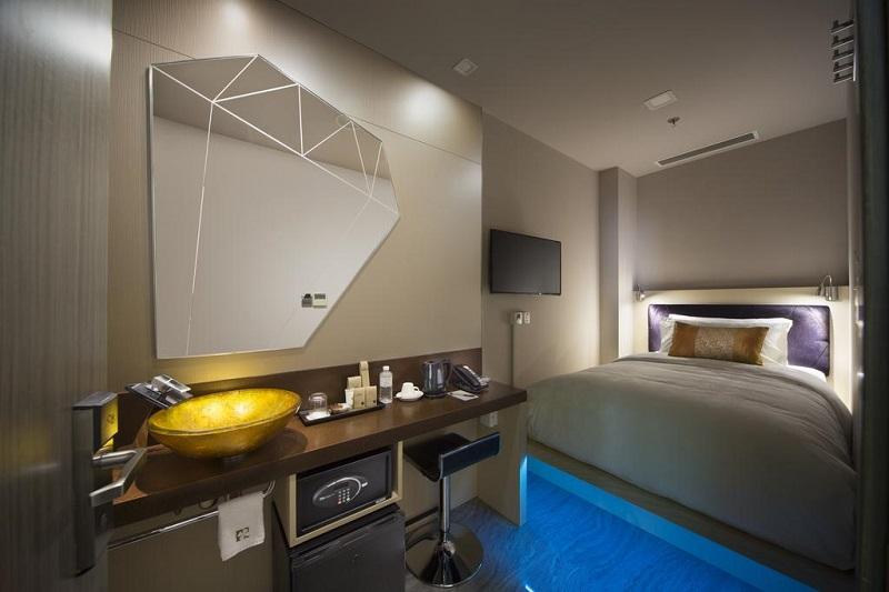Khách sạn Singapore Hotel Clover 7 có phong cách hiện đại
