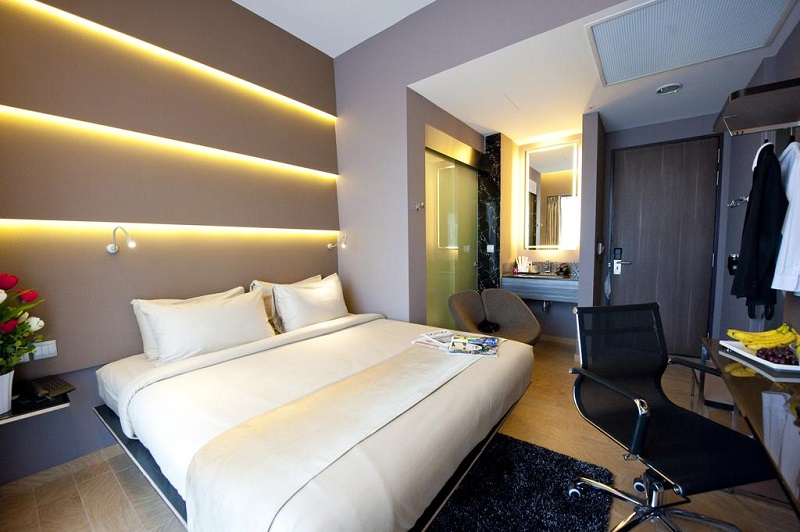 Parc Sovereign Hotel có không gian nghỉ ngơi ấm cúng