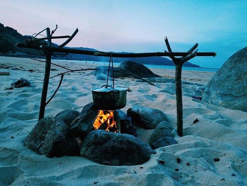 khu cắm trại đà nẵng