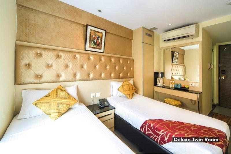 Phòng đôi tại Sandpiper Hotel
