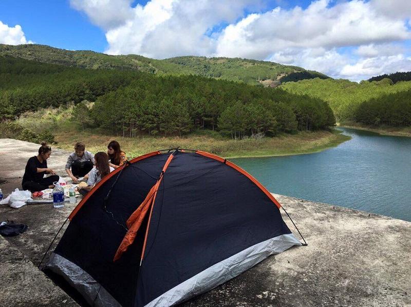 khu cắm trại đà lạt